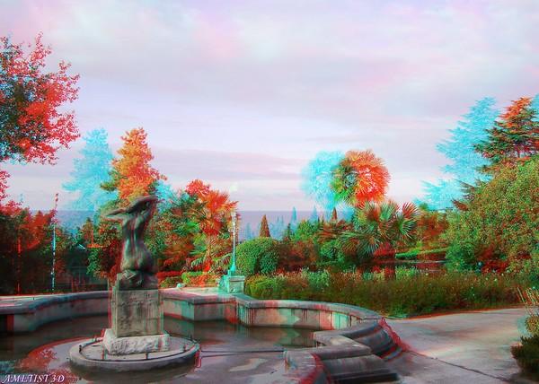 Красивые пейзажи - стерео картинки анаглиф 22 (600x428, 85Kb)