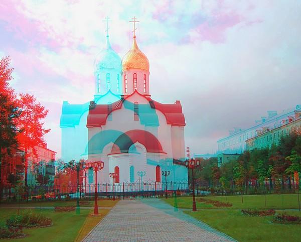 Красивые пейзажи - стерео картинки анаглиф 60 (600x482, 78Kb)