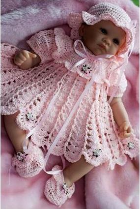 Комплект для новорожденного мастер класс