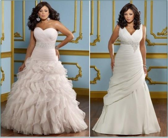 Свадебные Платья Для Девушек С Формами