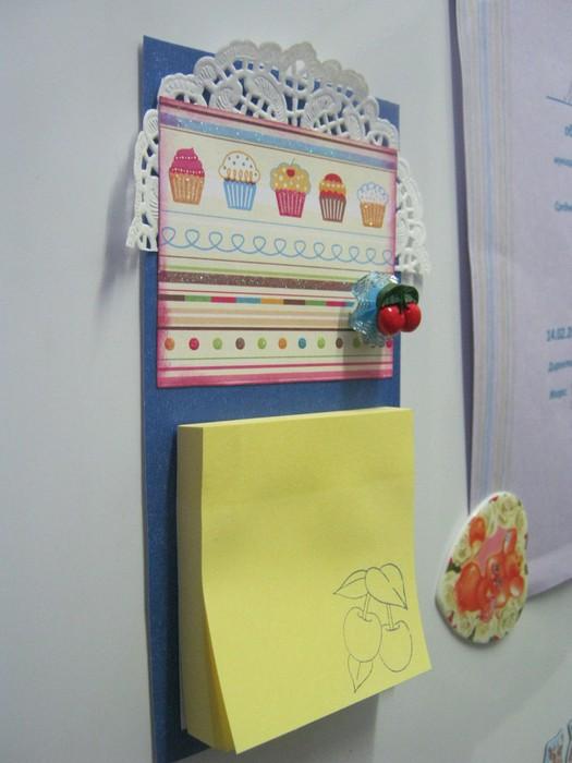 Записки на холодильник своими руками