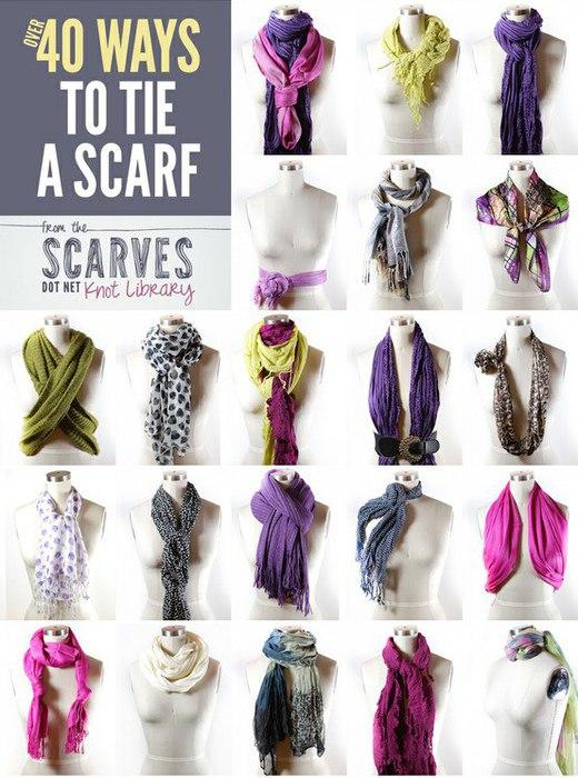 как завязать шарф (520x700, 95Kb)
