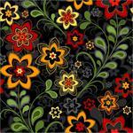 Превью Floral-Black-Pattern-1999139 (450x450, 63Kb)