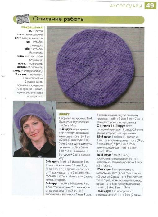 Вязание шапки чалма спицами для женщин с описанием 78