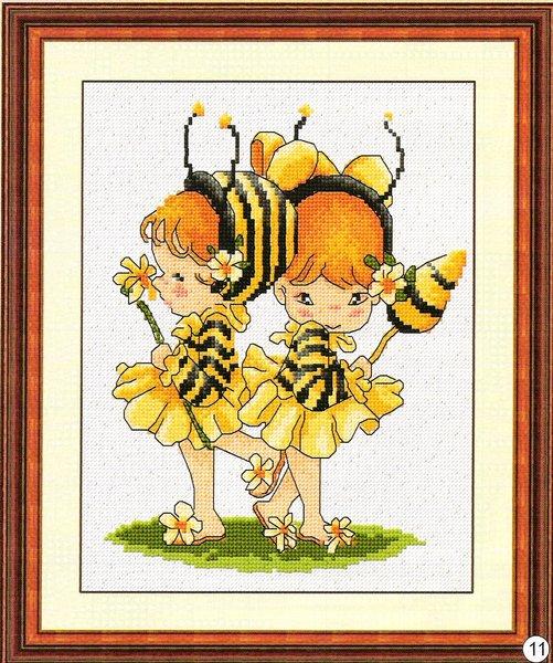 Ещё мне, как выяснилось недавно, мне надо пчёлок запараллелить срочно.  Работа должна быть готова к 20 сентября...