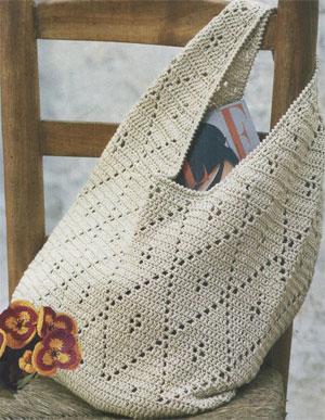 Бежевая сумочка крючком (300x387, 42Kb)