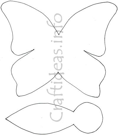 Butterfly_Pattern_for_Paper_Craft (400x457, 14Kb)