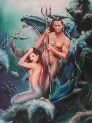 Секс русалки с тритоном