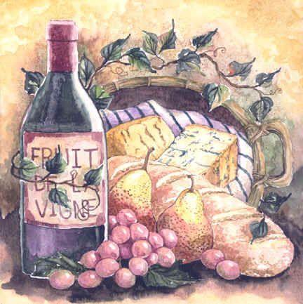 Vinho e baguete (432x433, 46Kb)