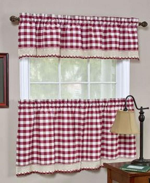 Классические шторы для кухни 33 (575x700, 85Kb)