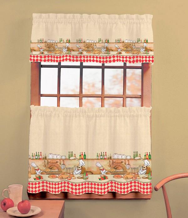 Классические шторы для кухни 3 (600x696, 109Kb)