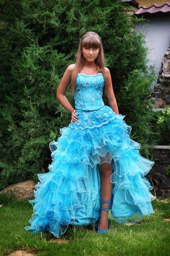 платье в пол с коротким рукавом фото
