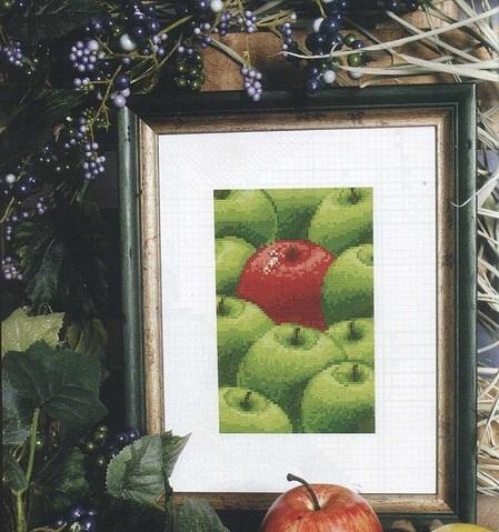 яблочки (449x479, 92Kb)