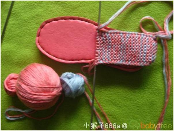 Вязанные тапочки китайские