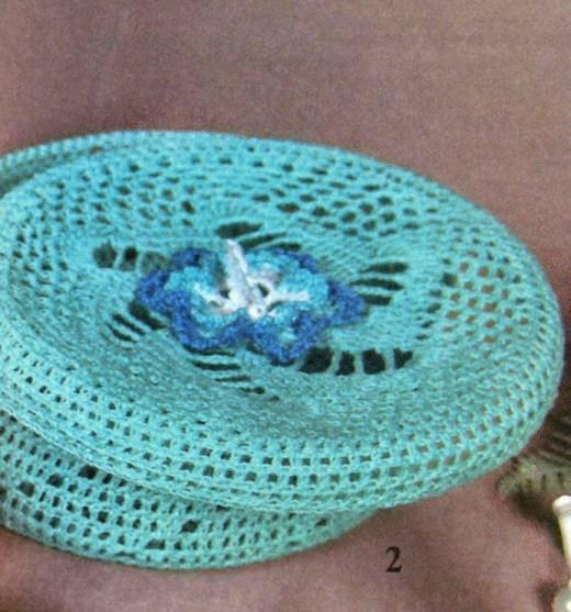 Схема вязания крючком шкатулки