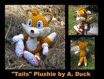 Превью Sonic the Hedgehog Tails Plushie (500x380, 59Kb)