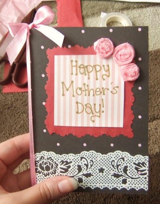 Самый простой подарок для мамы своими руками