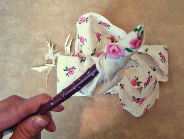Цветы из ткани своими руками выкройки цветов