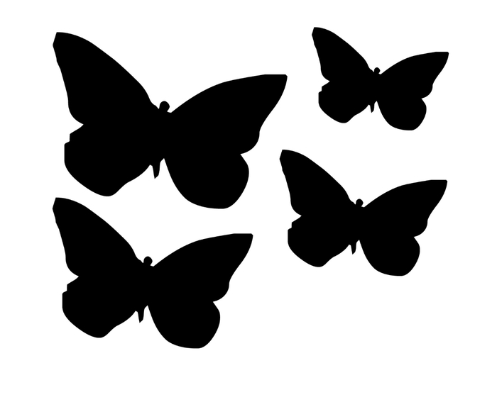 butterfly template (700x567, 38Kb)