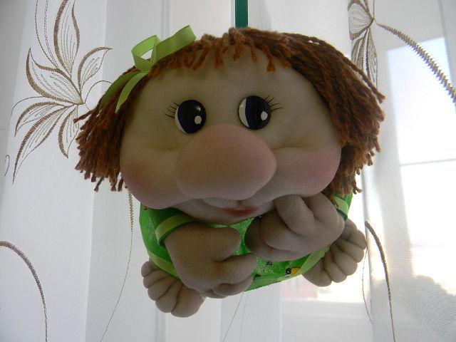 Шьем пошагово смешную куклу попики видео - Поделки