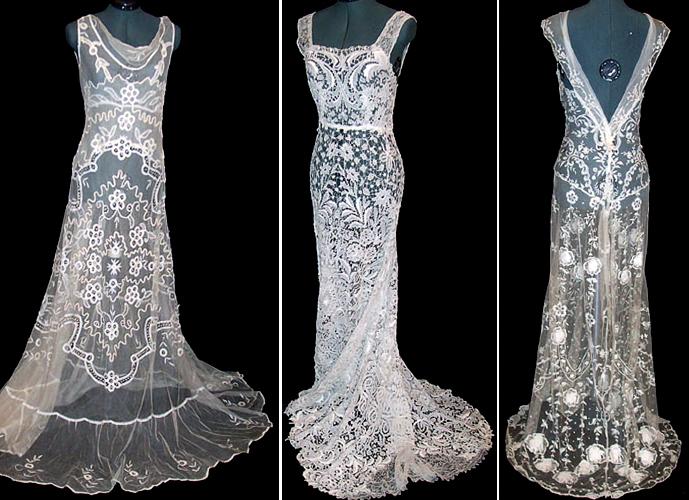 Кружева на платье своими руками