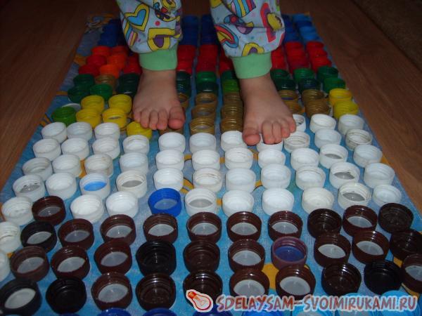 Как сделать коврик для ног