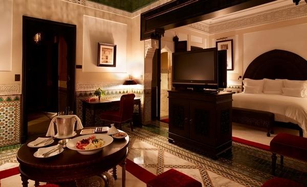 Самые лучшие отели мира - La Mamounia Marrakech 12 (600x367, 61Kb)