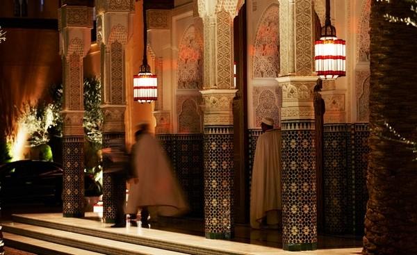 Самые лучшие отели мира - La Mamounia Marrakech 20 (600x367, 77Kb)