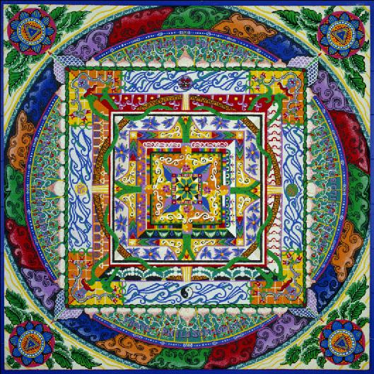 Mandala (529x529, 227Kb)