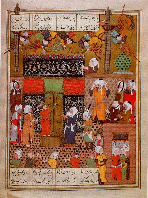 Min - Iskandar at the Ka'ba (1535) (483x645, 103Kb)