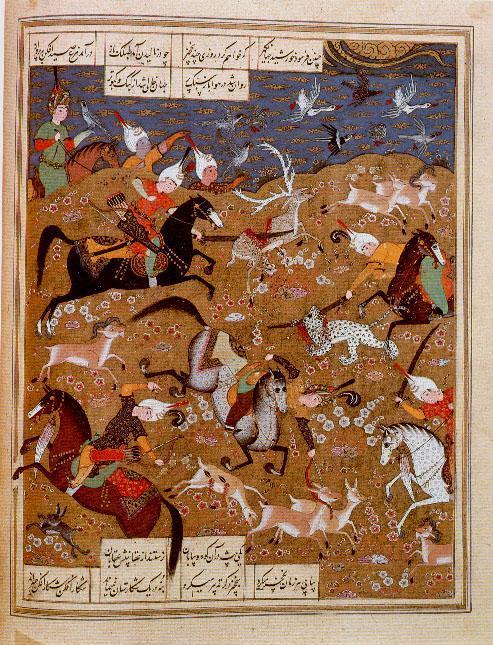 Min - Khusraw hunting (1534) (493x645, 108Kb)