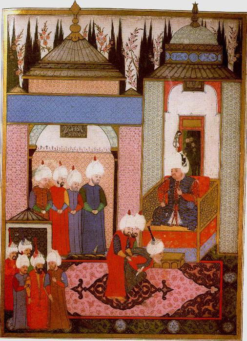 Min - Selim II receiving the Safavid ambassador at Edirne i (506x700, 101Kb)