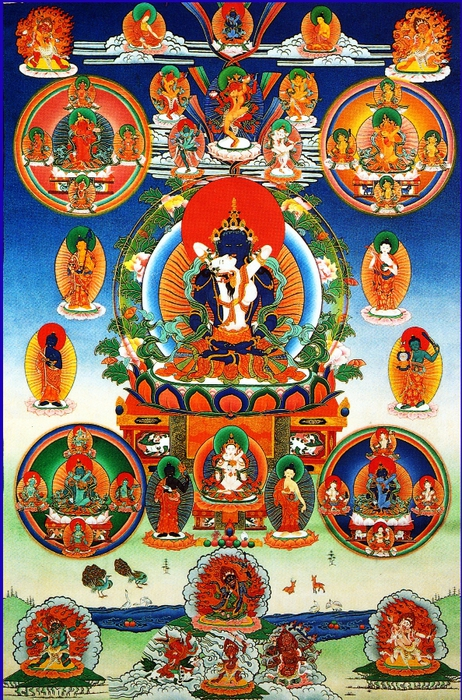 Thangka 42 peaceful bardo_deities (462x700, 396Kb)
