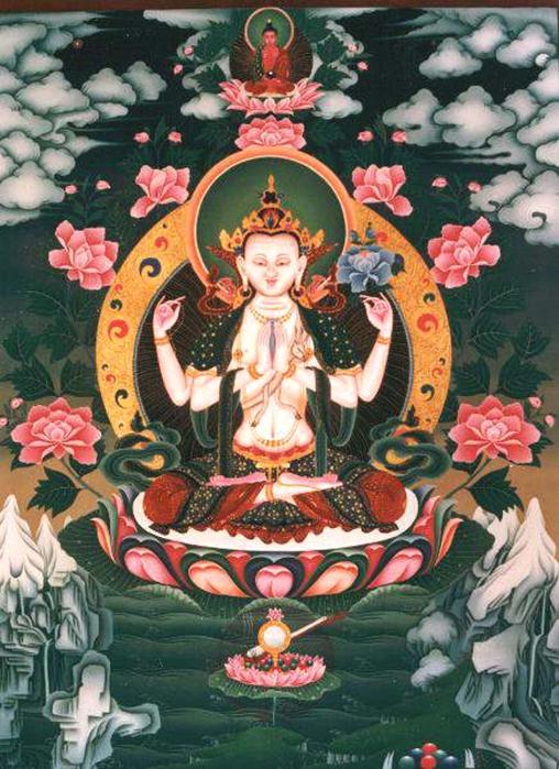 Thangka avalokitesvara (508x700, 320Kb)