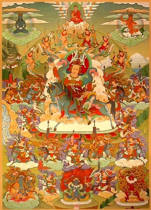 Thangka Dorje Dradul (502x700, 355Kb)