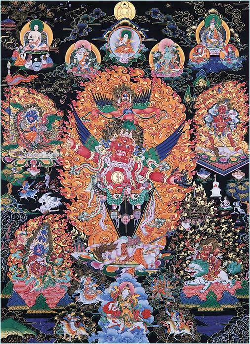Thangka Guru Dragpo Kilaya (507x700, 234Kb)