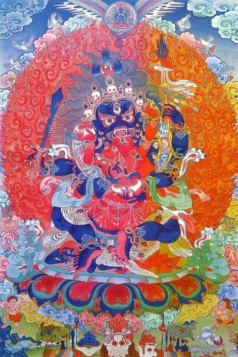 Thangka Mahakala (467x700, 375Kb)