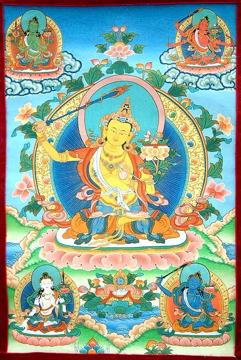 Thangka Manjushri (469x700, 104Kb)