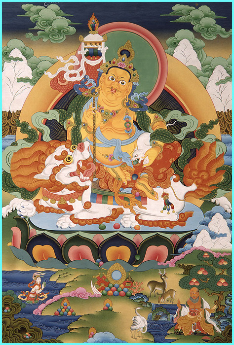 Thangka Namsarai - god of wealth (474x700, 228Kb)
