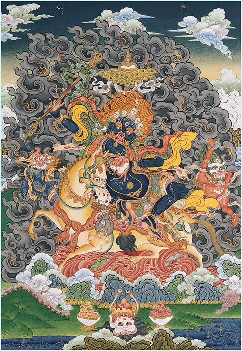 Thangka Palden Lhamo (483x700, 198Kb)