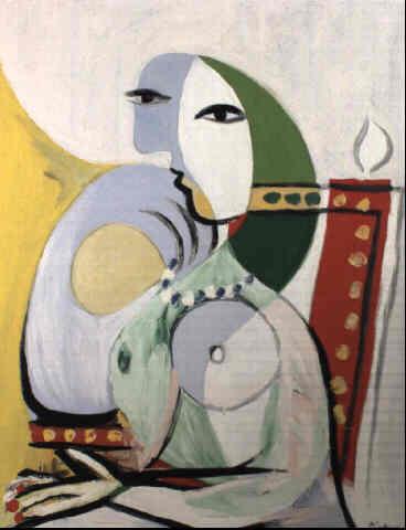 Picasso Femme nue assise. 1932. 92 x 73 cm (368x480, 16Kb)