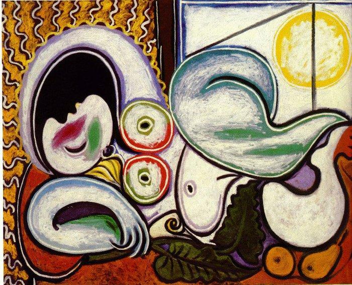Picasso Femme nue couchee. 4-April 1932. 130 x 161 cm. Oil o (700x567, 143Kb)