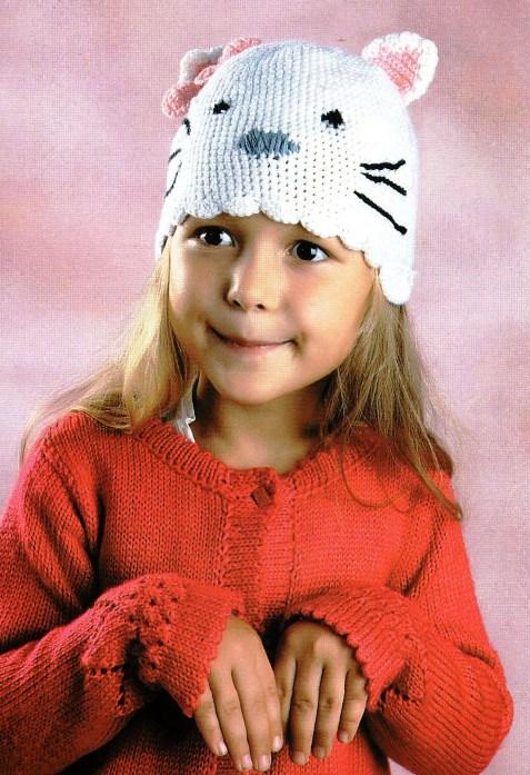 шляпки-шапки вязание для