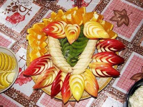 Оформление праздничного стола красиво пошагово