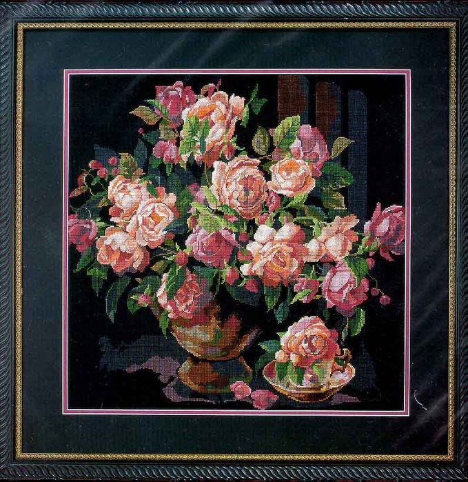 41330 Classic Roses (679x700, 160Kb)