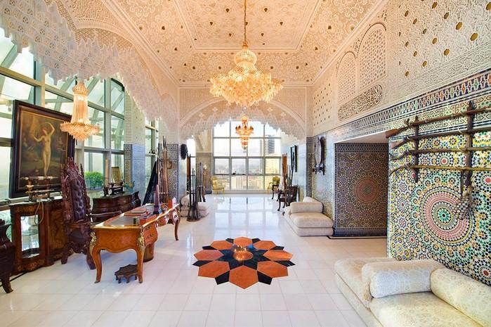 Роскошный арабский стиль в пентхаусе из Майами 5 (700x465, 140Kb)