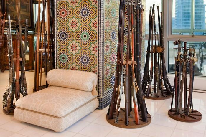 Арабский стиль дизайна