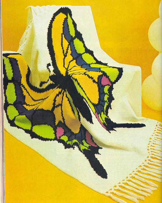 плед бабочка (560x700, 228Kb)