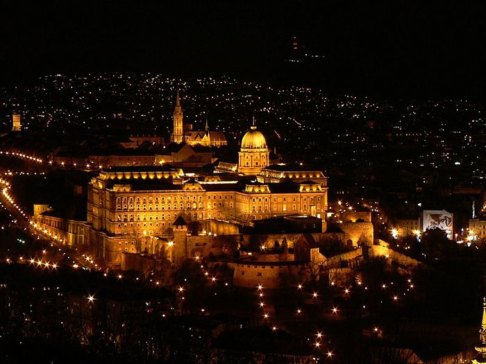 Ночной Будапешт 56238