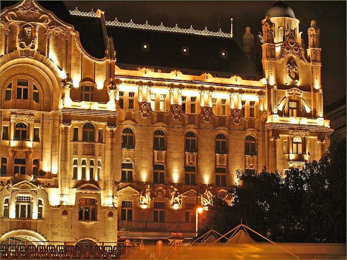 Ночной Будапешт 50067